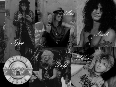 МУЗЫКАЛЬНЫЕ ОБОИ для РАБОЧЕГО СТОЛА - Guns 'n' Roses - Photo ...