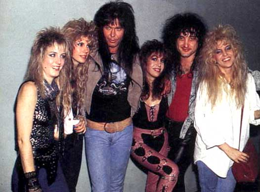 Blackie Lawless (W.A.S.P.) & Vixen