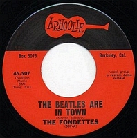 The Fondettes - The Beatles are in Town