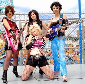 женские рок группы зарубежные слушать