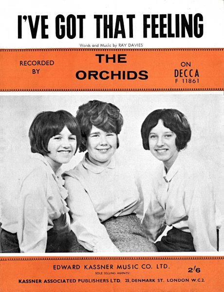 The Orchids Oo Chang A Lang Ive Got That Feeling
